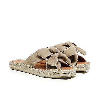 Macarena Miko7 Open Toe Leather Sandals
