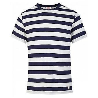 Armor Lux Cotton Linen Crew Neck T-Shirt