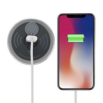 iphoneサムスンhuawei xiaomi oppoのための埋め込みデスクqiワイヤレス充電器高速充電電話ホルダー