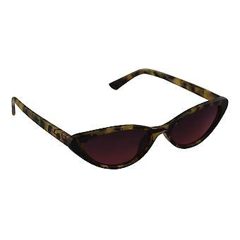 Solglasögon Ladies Cat Eye - Leopard Bruin2530_1