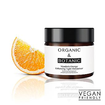 Organic & botanic mandarin orange repairing night moisturiser