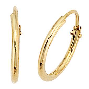 Vanteet noin 333 kullan keltainen kullan korvakorusta kultaa korvakorut Goldcreolen