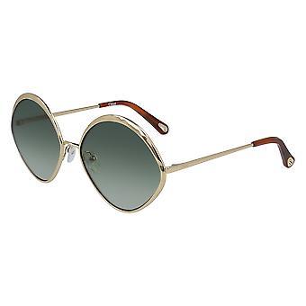 Chloe Dani CE168S 733 Gold/Green Sunglasses