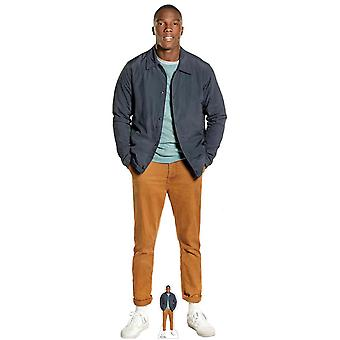 Ryan Sinclair from The 13th Doctor Who Official Cardboard Cutout / Standee / Standup