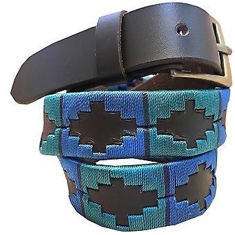 Carlos diaz barn unisex brunt läder polo bälte cdkupb491