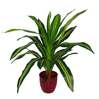90cm Dracaena grand Dragon artificiel vert plante arbre
