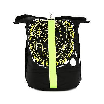 Alexander Mcqueen Ezcr015004 Men's Black Fabric Backpack