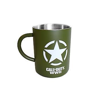 Official Call of Duty Freedom Star Steel Mug