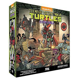 Jeu de Teenage Mutant Ninja Turtles City Fall Board