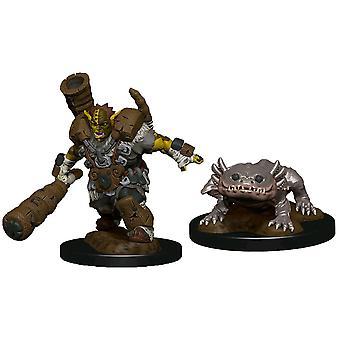 Wardlings Mud Orc & Mud Puppy Pre-Painted Mini