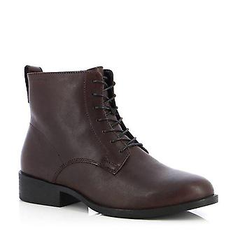 Vagabond cary espresso booties womens brown