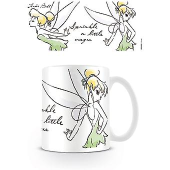 Peter Pan Tinker Bell Kouzelný hrnek