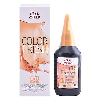 Colorant temporar Color Fresh Wella/6/0 - 75 ml