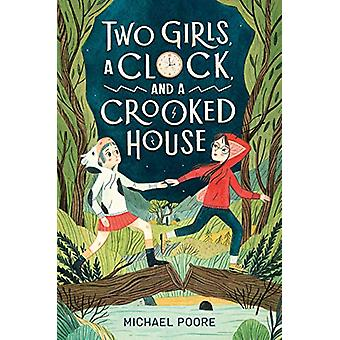 Two Girls - a Clock - and a Crooked House by Michael Poore - 97805256