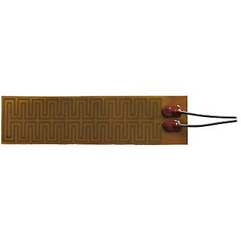 Thermo TECH Polyimide Heating foil self-adhesive 24 V DC, 24 V AC 75 W IP rating IPX4 (L x W) 180 mm x 45 mm
