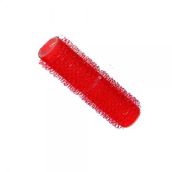 Hair tools cling rollers small red 13mm x12