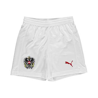 Puma Austria Home Shorts 2018 Junior