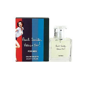 Paul Smith Hello You! for Men Eau de Toilette Spray 50ml