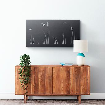 Metal Wall Art - Bulrush #2