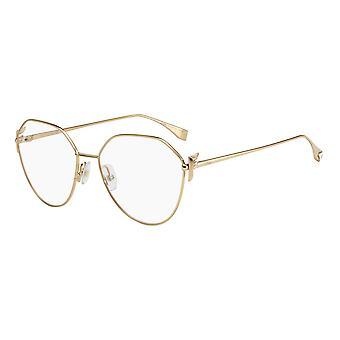 Fendi FF0389/G J5G Gold Glasses
