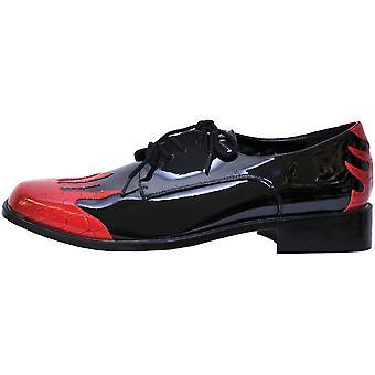 靴炎メンズ Bk/Rd 小