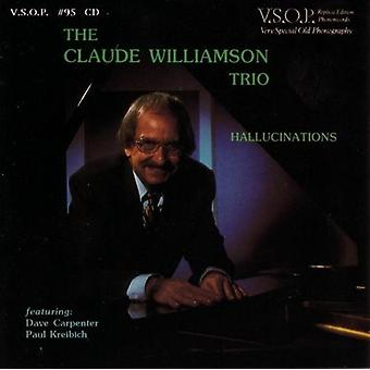 Claude Williamson Trio - Hallucinations [CD] USA import