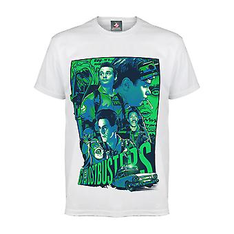 Ghostbusters Team Collage Men's T-Shirt | Official Merchandise