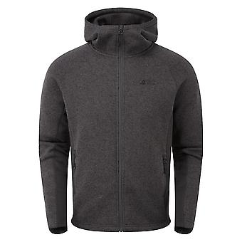 North Ridge Men's Atlas Textured Fleece Dark Grey