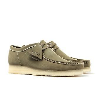 Clarks Orginals Wallabee Forest Green Shoes
