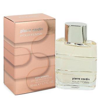 Pierre cardin pour femme eau de parfum spray by pierre cardin 551459 50 ml