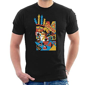 Crash Bandicoot Tribal Art Men's T-Shirt