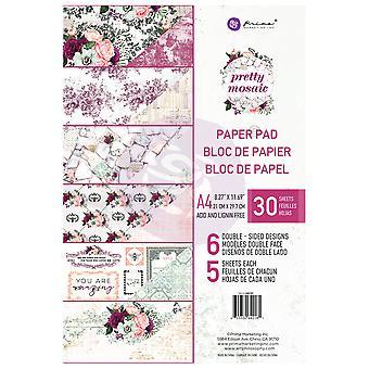 Prima markedsføring ganske mosaikk A4 papir pad