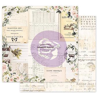 Prima Marketing Spring Farmhouse 12x12 Inch Sheets Gather