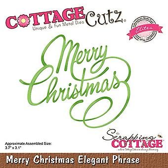 Scrapping Cottage Merry Christmas Elegant Phrase (Elites) (CCE-520)