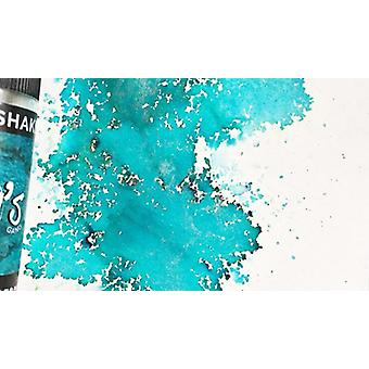 Lindy's Stamp Gang Time Travel Teal Magical Shaker