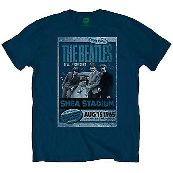 The Beatles Shea Stadium 1965 Offisiell t-skjorte Menns Unisex
