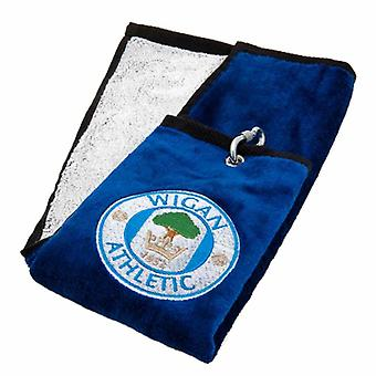 Wigan Athletic FC kolmiosainen Golf pyyhe