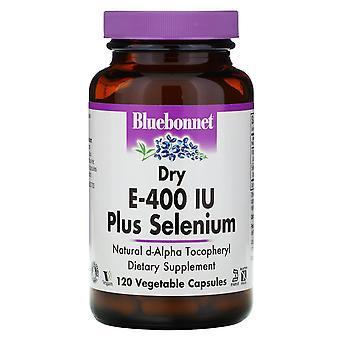 Bluebonnet Nutrition, Dry E-400 IU, Plus Selenium, 120 Vcaps