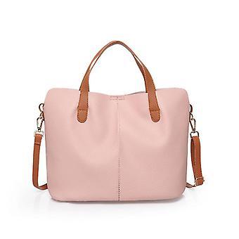 Women's soft leather ladies handbag