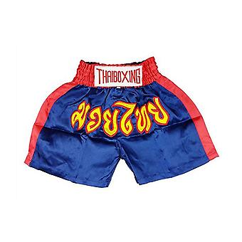 Kid Boxing Short Trunks Blue M