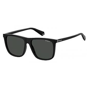 نظارات شمسية Unisex 6099/S807/M9 الطريق المسافر الأسود / الرمادي
