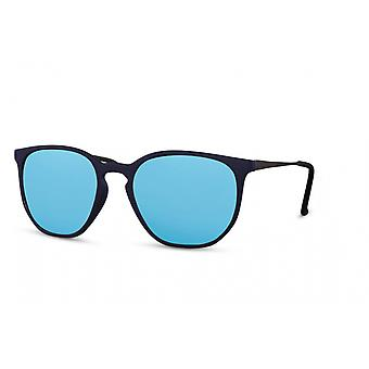 Sunglasses Unisex panto full-edged cat. 2 blue/blue