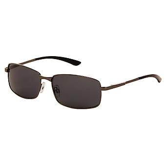 Sunglasses Unisex grey with grey lens (7100 P)