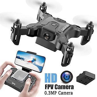 Mini Drone Med/ utan HD-kamera - Rc Helikopter Quadcopter