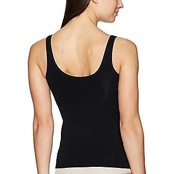 Brand - Arabella Women's Seamless Slimming Tank Top Shapewear, Black, ...