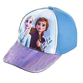 Baseball Cap - Disney - Frozen 2 - Elsa & Anna Blue Kids/Youth 419766