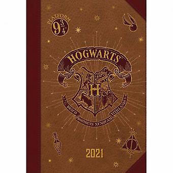 Harry Potter A5 Dagboek 2021 Zweinstein
