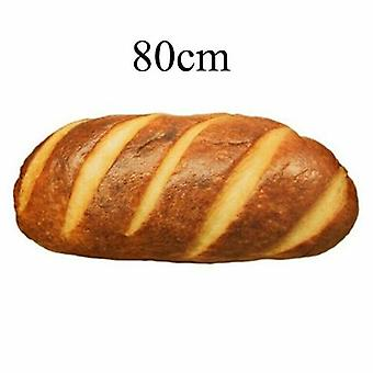 3d Plysch Kudde-gåva Mjuk Fyllda Ryggstöd Snack-bröd-form