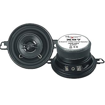 Lautsprecherset Zwei-Wege-Koaxial X87 160 Watt schwarz