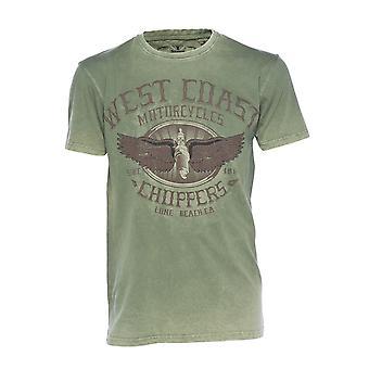 West Coast Choppers Men's T-Shirt Wings Logo